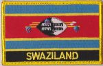 Swaziland Embroidered Flag Patch, style 09.